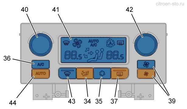 Схема работы климат контроля фото 105