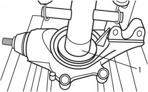 Замена и ремонт переднего подшипника ступицы на audi а4