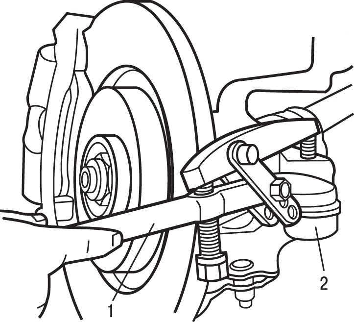 Замена рулевой тяги в Ситроен