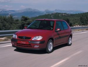 Автомобиль Citroen Saxo