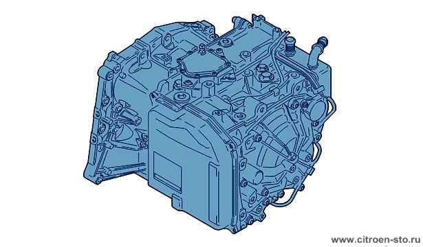 Коробка передач AL4